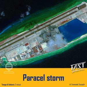 Paracel storm: chi controllerà l'acqua, controllerà il Mondo?