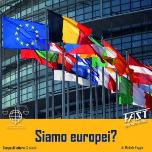 Siamo Europei?