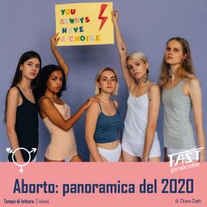 Aborto: panoramica del 2020