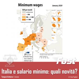 Italia e salario minimo: quali novità?