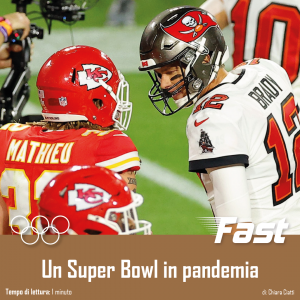 Un Super Bowl in pandemia