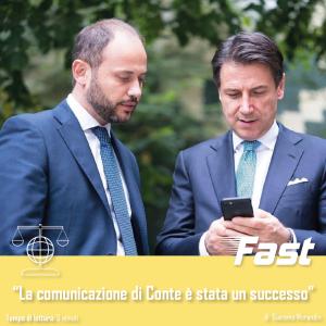 La comunicazione di Conte è stata un successo