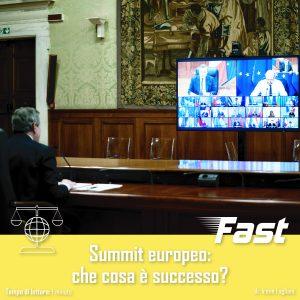 Summit europeo: che cosa è successo?