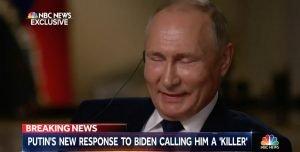 Si sta come alle interviste, sull'America, Putin.
