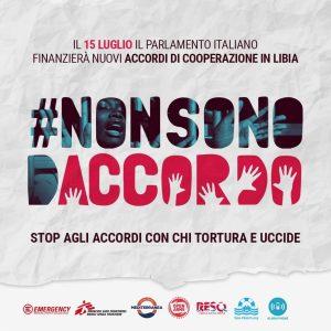 L'Italia è complice della Libia