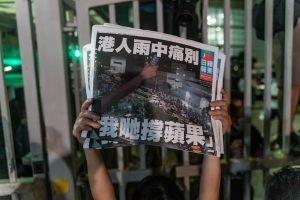 Hong Kong: addio stampa libera